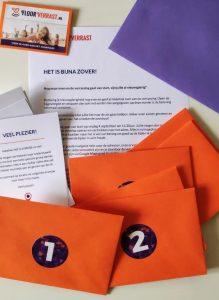 Enveloppen verrassing cadeau vriendin